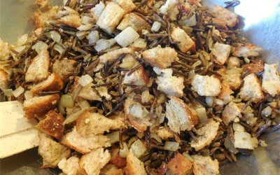 Traditional Canadian Organic Wild Rice Stuffing