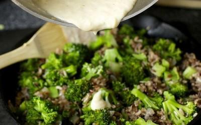 Broccoli-Rice-Cheese Casserole