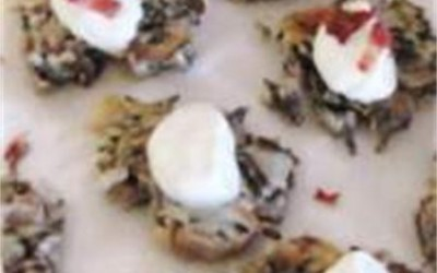 Wild Rice and Mushroom Patties