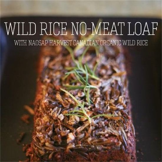 Wild Rice No-Meat Loaf