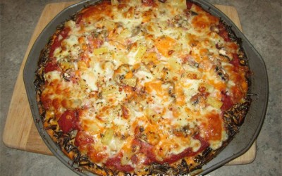 Naosap Harvest Wild Rice Pizza